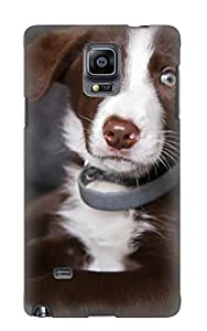 Kathewade Durable Animal Dog Back Case/ Cover For Galaxy Note 4 For Christmas
