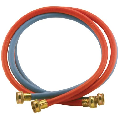 Abbott Rubber X1109rb-6Ff-Tp Rubber Washing Machine Hoses (6 Ft)