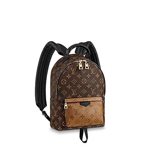 LLVS Women's Monogram Reverse Palm Springs Backpack (Made in France)