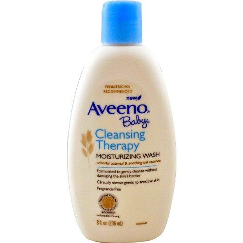 Aveeno bébé Cleansing eczéma Therapy Nettoyant hydratant sans parfum 5 oz