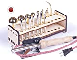 [#4 Professional Kit] - 18 items. New Professional Flower Making and Millinery Tools, Japanese tools, Video Tutorial and 2 Flower Making Books in English as online access