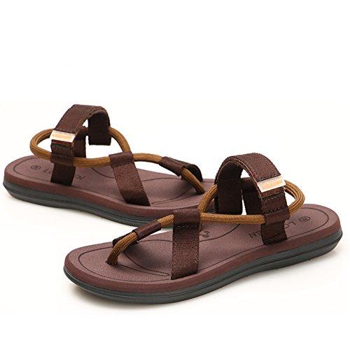 Playa De Zapatillas Sandalias Moda 41 Chanclas STHY Hombres Brown De Verano Zapatillas Y Zapatillas 8wqn5SgR