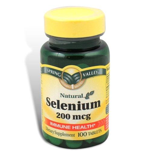 Spring Valley - Sélénium 200 mcg, 100 comprimés