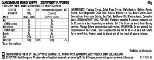 Clif Shot Bloks - Strawberry (3 x 2.1oz Bars) ()