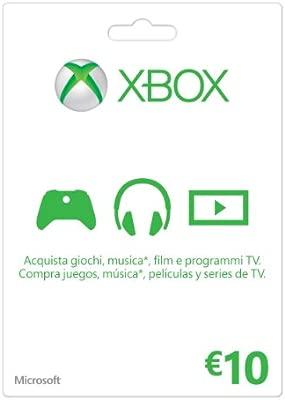 Microsoft - Xbox Live Tarjeta Regalo 10 Euro (Xbox): Amazon ...