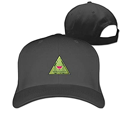 DIYoDGG Smiling Watermelon Baseball Cap Unisex Plain Hat