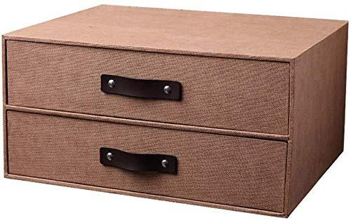Cajas de joyería DJSSH Carpeta de almacenamiento Caja de ...