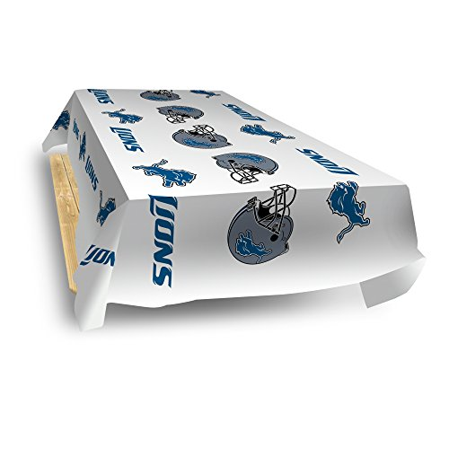(Rico Industries NFL Detroit Lions 8-Foot Table Cover)