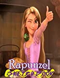 Rapunzel: Disney Tangled Themed Sketch Book Drawing Book 8.5' x 11' I A Delight for all Kids