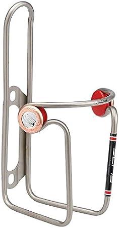 Elite Ciussi - Portabidón para Bicicleta, Acero Inoxidable, Color ...