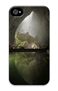Cave Custom iPhone 4s/4 Case Cover Polycarbonate 3D Thanksgiving Day gift