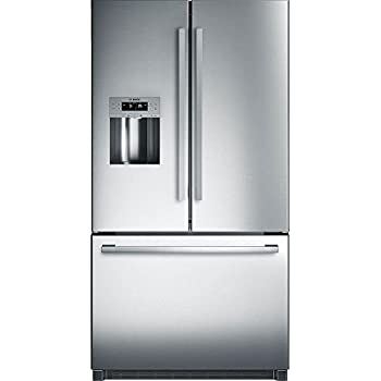 Bosch B26FT50SNS 800 Series 36 Inch French Door Refrigerator With 25 Cu.  Ft. Total