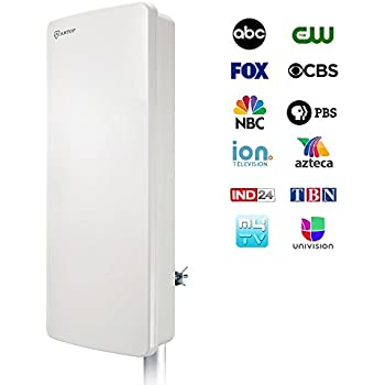 Amazon Com Tv Antenna Antop Outdoor Indoor Digital