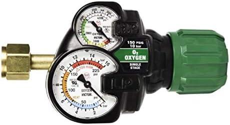0781-3641 ESS32-80CFH-580 Victor Inert Gas Argon Regulator EDGE 2.0 Flow Gauge