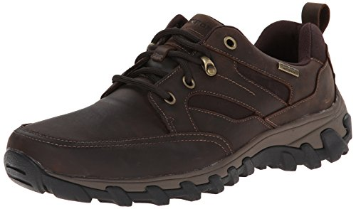 Rockport Men's Cold Springs Plus Mudguard Oxford  Dark Brown Oiled Nubuc  9 M (D)