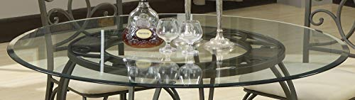 Coaster Home Furnishings Round Glass Top with 1