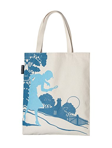 Out of Print Nancy Drew Tote Bag, 15 X 17 Inches