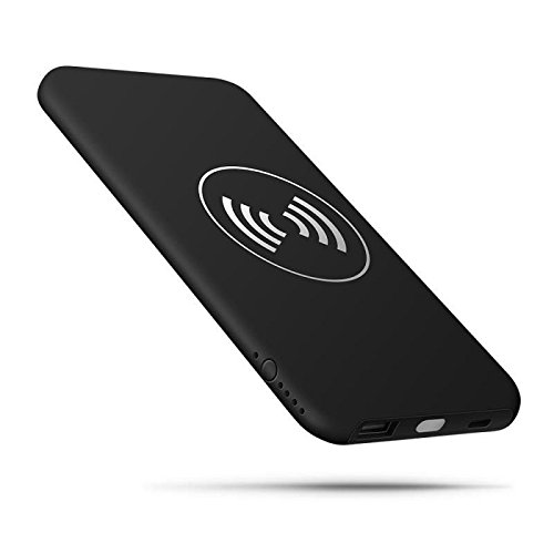 10000mAh handheld ask for electric power Bank 2 in 1 for iphone and android Black External Battery Packs