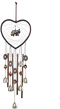 Details about  /Metal Chape Church 3 Tubes Bell Angel Wind Chime Outdoor Garden Hanging Deco