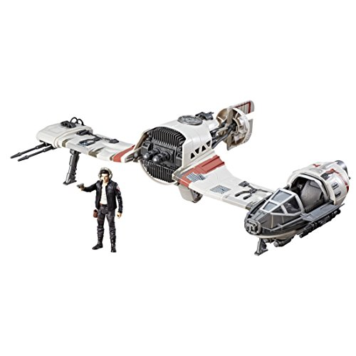 Star Wars Force Resistance Ski Speeder and Captain Poe Dameron Figure (The Last Ten Seconds Of Life Merch)