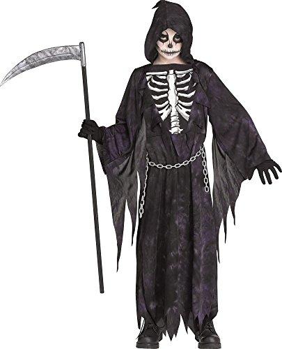 Fun World Midnight Grim Reaper Costume - Medium