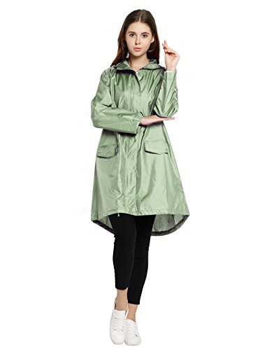 Spring Femme Green Fever Manteau Imperméable r4xrwqS6U