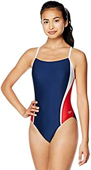 Speedo Womens Swimsuit One Piece Prolt Relay Back