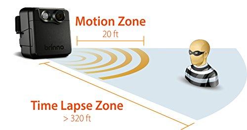 Brinno MAC200DN Portable Motion Activated Wireless Outdoor Security Camera (Black) by Brinno (Image #13)