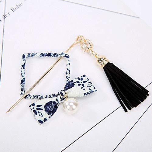 Chinese Style Metal Rhinestone Hair Stick Hair Chopsticks Chignon Hairpin Pin (Color - #36)