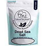 Dead Sea Salt Fine Grain 10 lb (4.5 kg) by Natural Elephant 100% Natural & Pure for Psoriasis Eczema Acne & Other Dermatological Needs