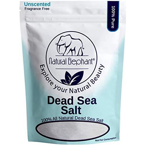 - Dead Sea Salt Fine Grain 5 lb (2.25 kg) by Natural Elephant 100% Natural & Pure for Psoriasis Eczema Acne & Other Dermatological Needs