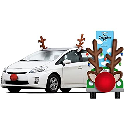 Amazon festive christmas reindeer car decoration kit party amazon festive christmas reindeer car decoration kit party supply plastic toys games junglespirit Gallery