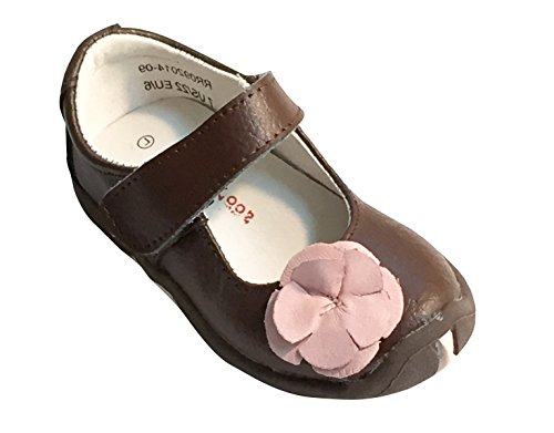 Rileyroos Fiona in Chestnut Toddler/Little Kids Shoes 7.5M US/EU 23 (Rileyroos Shoes Baby)