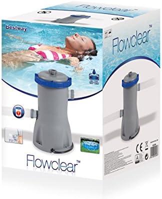 Bestway - Bomba 58386 filtrante de cartucho para piscinas, 3028 ...