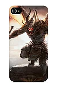 Freshmilk 28aeb541529 Case For Iphone 4/4s With Nice Big Sword Demon Appearance