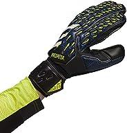 adidas,Unisex Glove MTC Fingersave Gloves,Black/Team Royal Blue/Solar Yellow/White,11