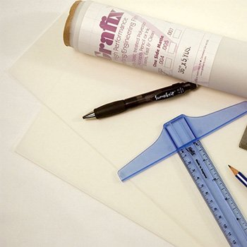 Grafix Drafting Film, Matte, 2-Sided, .003