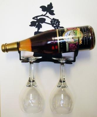 WR-WM-157-XExtra Small Grapevine Wine Rack Wall Mount Extra Extra Small