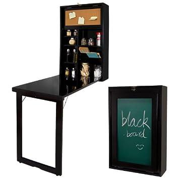 Klapptisch wandmontage küche  Wand-Klapptisch, Küche & Esszimmer massiv Holz Tisch Schreibtisch ...
