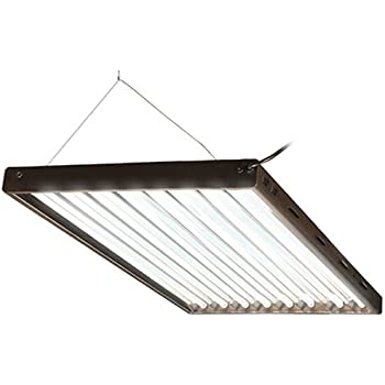 Agrobrite Designer T5, FLP48, 432W 4 Foot, 8 Tube Fixture With Lamps