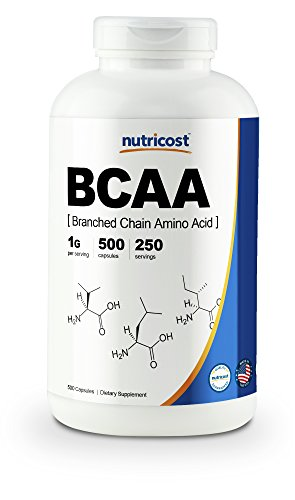 Cheap Nutricost BCAA Capsules 2:1:1 500mg, 500 Caps