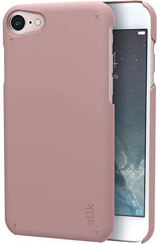 Silk iPhone 8/7 Slim Case - Snap Shell for iPhone 8/7 [Ultra Slim Fit Soft-Touch Protective Cover] - Rosé All Day