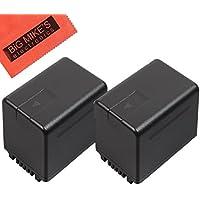 BM Premium 2 VW-VBT380 Batteries for Panasonic HC-V210, HC-V250, HC-V380, HC-V510, HC-V520, HC-V550, HC-V710, HC-V720, HC-V750, HC-V770, HC-VX870, HC-VX981, HC-W580, HC-W850, HC-WXF991 Camcorder