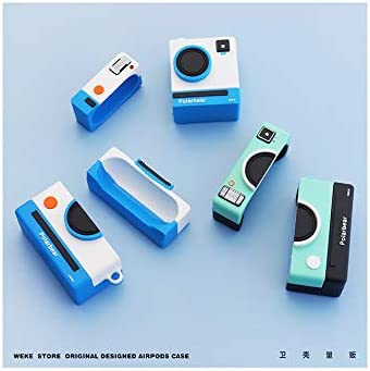 Expression Dog Love Bear Little Shark BN-A2 BNBKIKO Airpods Silicone Case for Apple Airpods 1/&2 3D Theme Anime Smurf