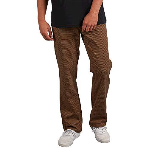 Volcom Men's Thrifter Plus Modern Chino Pants, Gravel, 36