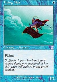 Magic: the Gathering - Flying Men - Timeshifted