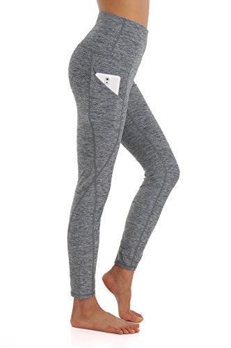 ZEROGSC Women's Yoga Pants - Workout Running Tummy Control Stretch Power Flex Long/Capris Leggings With Out Pockets (Capri Pants Slacks)