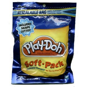Play-Doh Soft Pack and 1 Shape Cutter -
