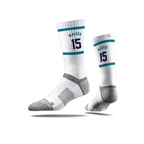 - Strideline NBA Charlotte Hornets Kemba Walker Jersey Premium Athletic Crew Socks, One Size