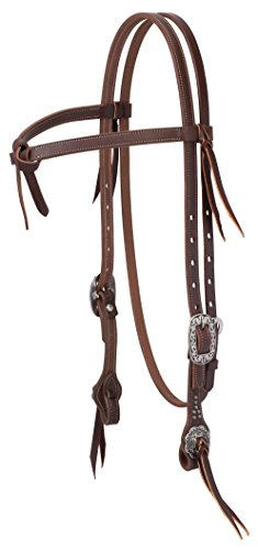 - Weaver Leather Working Tack Futurity Knot Browband Headstall